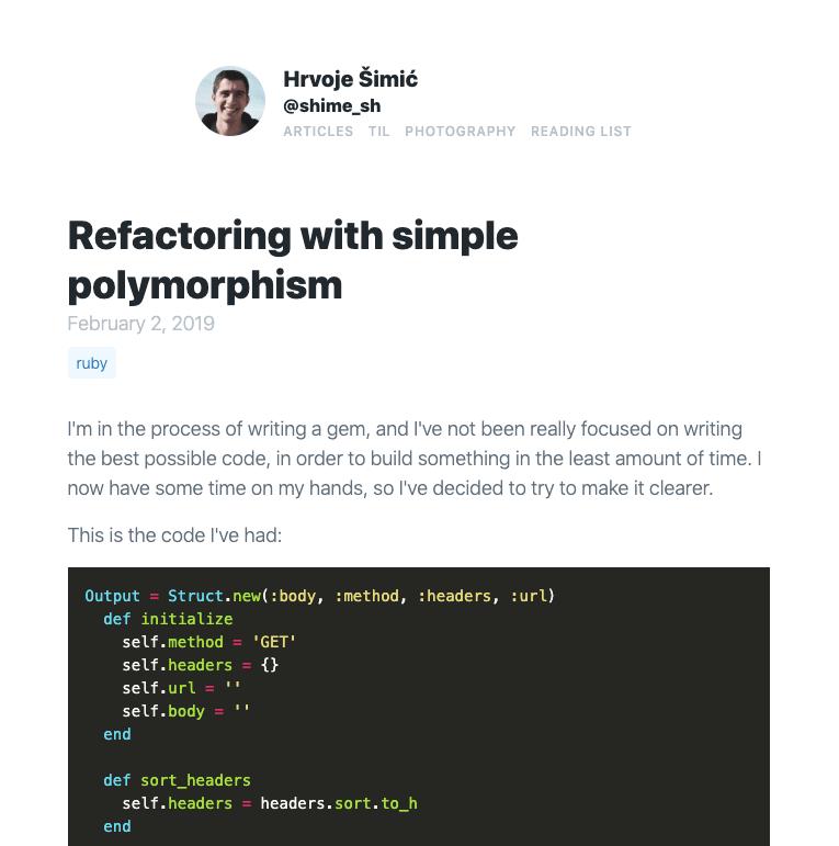 Replacing Google Fonts with system fonts · Hrvoje Šimić